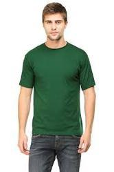 f4f36f2b2 Mens Cotton Round Neck Dark Green Plain T-Shirt, Rs 349 /piece | ID ...