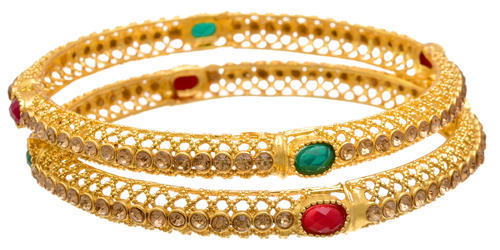 home bharatjewel red ad bangles bangle stone green