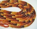 Natural Hessonite Garnet Beads