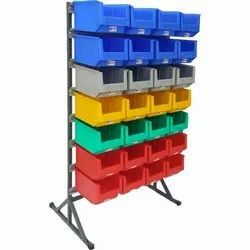 35 Single Sided Bin Stand