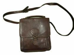 Genuine Leather Satchel/Cross Body Bag