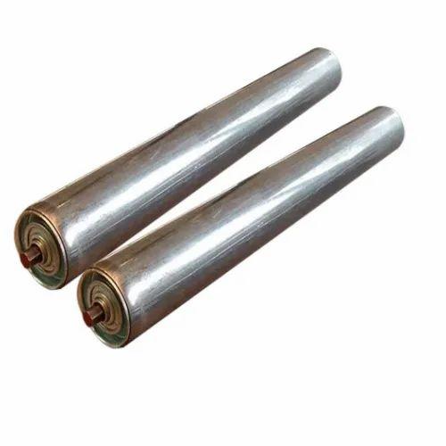 Conveyor Roller - Conveyor Rubber Ring Roller Manufacturer from Rajkot