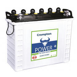 Crompton Power Tubular Battery, For Inverter