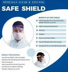 PET Covid 19 Face Shield
