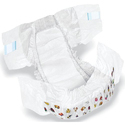 Dry Safe White Disposable Baby Diapers