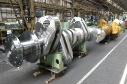 Crankshaft Marine Engine