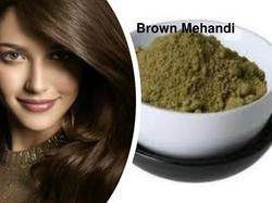 Henna Brown Color Easy Retouchment Of White Hair