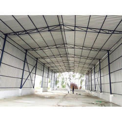 Tennis Court Roofing Shed
