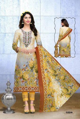 ee56fa1bdd Casual Karachi Cotton Printed Dress Material, GSM: 150-200, Rs 3412 ...