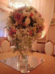 Anniversary Party Floral Theme Decoration Service