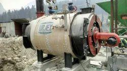 Shell & Tube Type Hot Water Boiler