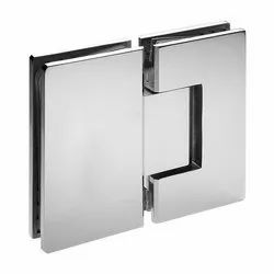 Glass to Glass 180 Degree Hinge