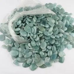 Natural Aquamarine Cabochon In Assortment Gemstone for Jewellry Making