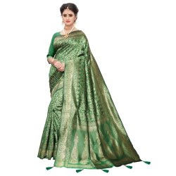 Designer Banarasi Silk Style Saree