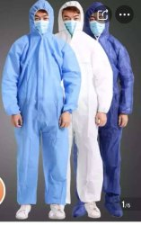 FINE WEAR 40 Gsm Sms Disposable Coverall Suit, Model Name/Number: 442244, Size: Large, Extra Large