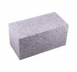 Blocks Rectangular 8 Inch Solid Concrete Block, For Side Walls