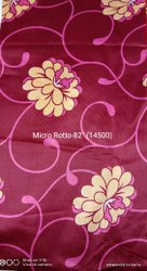 Micropoley ''80'' Printed Fabric