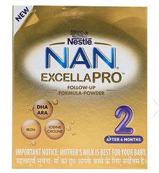 Nestle Nan Excella Pro 2 Infant Follow Up Formula - 400gm