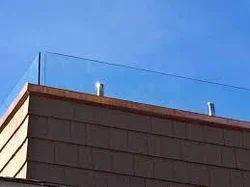 Terrace Balcony Glass Railing