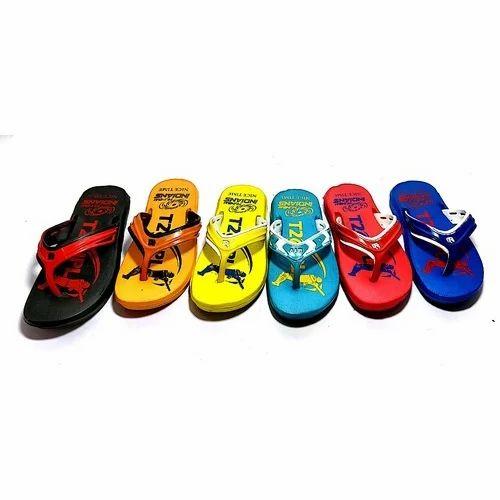 EVA Boys PU Slipper, Size: 11-3 And 5