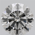 0.74ct Lab Grown Diamond CVD I VVS2 Round Brilliant Cut IGI Crtified Type2A