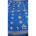 Embroidered Party Wear Designer Saree, Length: 6 M