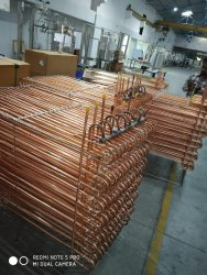 Reftech Cooling Coil, For Chemical Industry, Tube Material: 100% Copper