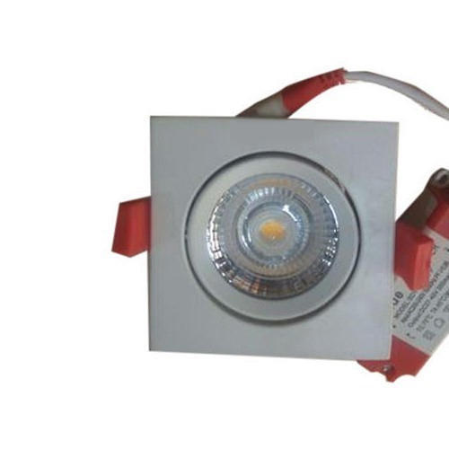 Cool White 9 W 9W LED Panel Light, Shape: Square
