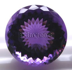 Amethyst Faceted Round Gemstone