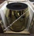 Brass Steel Tandoor marble top