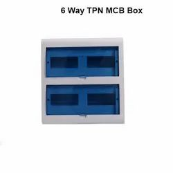 6 Way TPN MCB Box