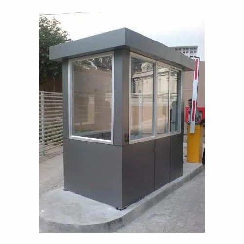 Security Cabin सुरक्षा केबिन Lucky Aluminium Amp Glass