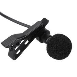 Universal Mini Lavalier Lapel Microphone 3.5 Mm Jack With Clip-on, MINI MIC