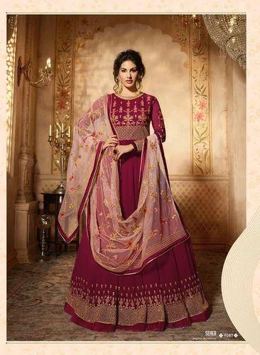 94ded88186 Ladies Anarkali Suit - Amirah Present Suit Wholesale Trader from Surat