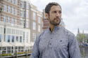 Men's Grey Color Linen Shirt