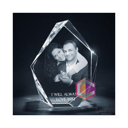 Crystallyze White Romantic Crystal Love Gift, Size: 6 x 4 inch