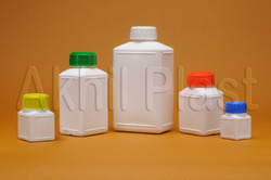 AP12 HDPE Rectangular Shape Bottle