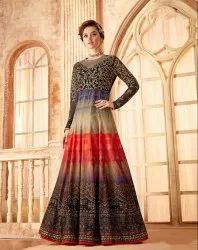 Pr Fashion Launched Beautiful Designer Floor Length Suit