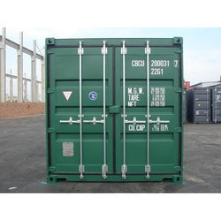 Mild Steel 20 ft Storage Container, For Goods Shipping, Storage, Size/Dimension: 20*8*8.6