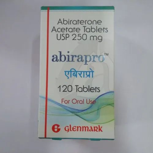 Abiraterone Acetate Abirapro 250mg Tablet for Hospital