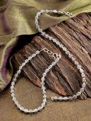 Priyaasi Oxidised Silver Anklet