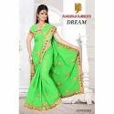 Ladies Green Sarees