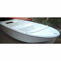 White FRP Boat