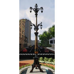 Cast Iron Big Post Pole