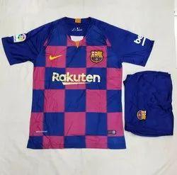 51e3a74e5 Blue & Purple KD Full & Hall Sleeves 2019/20 FC Barcelona Home Jersey