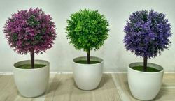 Artificial Flowers Pots, Pack Size: Individual