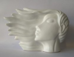 Ceramic Flying Hair