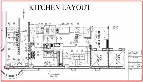 Astounding Commercial Kitchen Planning And Designing In Bapunagar Interior Design Ideas Philsoteloinfo