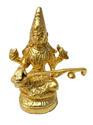 Maa Saraswati Goddess statue - Gold