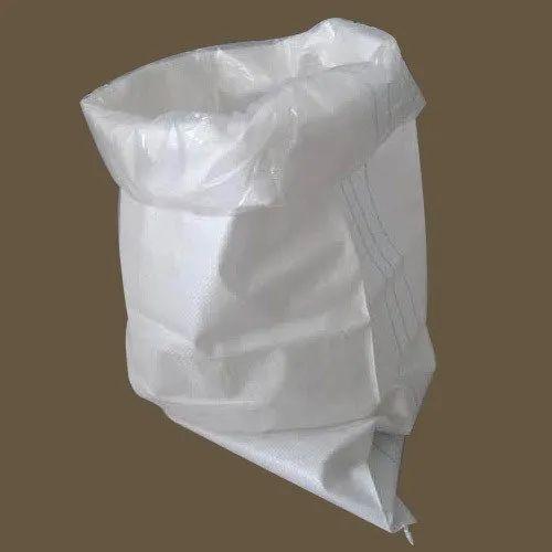 White Sack PP Woven Sacks, Packaging Type: Al type of packaging, for Goods Packaging